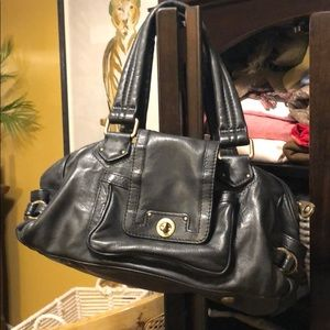 Marc by Marc Jacobs Black Leather Iconic Handbag